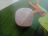Природний камінь, мінерал 21,12 г. Рожевий кварц, фото №7