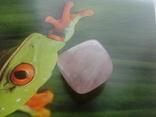 Природний камінь, мінерал 21,12 г. Рожевий кварц, фото №9