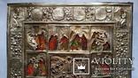 Ікона Святки, 84* 1878, Захаров І.В., 31,2х26,7 см, фото №5