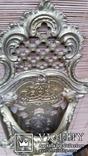 Настінний тримач щітки, бронза, Н37,5 см, фото №6