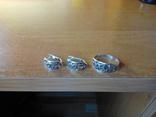 Прекрасний срібний гарнітур, фото №6