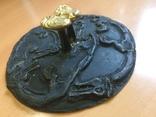 Скифское зеркало «Грифоны». Копия., фото №4