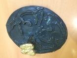 Скифское зеркало «Грифоны». Копия., фото №12