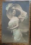 Старинные открытки с барышнями., фото №3