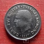 1 крона 2007 Дания    (Т.6.17)~, фото №3