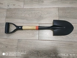 Лопата BUFFALO (саперна) дерев'яний держак, фото №4