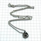 Подвес серебро на цепочке с сапфиром, фото №3