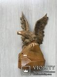 Орёл,16,5см( дерево) б/у, фото №2