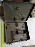 Кейс портфель армейский металический для инструментов саквояж, фото №2