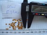 Запчасти 50 шт. желтые. диаметр 3.7 мм, фото №5