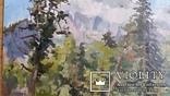 """Л.Харламов """"Оз. Рица"""", 1958р., 25х34 см, фото №3"""