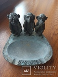 Пепельница --Три обезьяны, фото №9