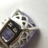 Подвес серебро на цепочке, фото №11