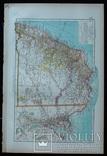 3 карты. Океания, Австралия. Andrees HandAtlas. 1921 год. 56 на 44 см (3)., фото №5