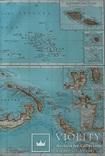 3 карты. Океания, Австралия. Andrees HandAtlas. 1921 год. 56 на 44 см (3)., фото №11