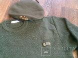 Commando свитер + берет зеленый, фото №2