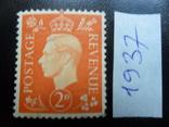 Великобритания. 1937 г МLН, фото №2
