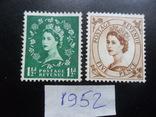 Великобритания. 1952 г. Королева. MLH, фото №2