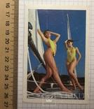 3 календарика  девушки, эротика, 1991 г.  / дівчата, еротика, фото №3
