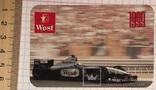 Реклама West McLaren Mercedes, 1999 / Мерседес, формула 1, фото №2