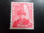 Британские колонии. Непал.  марка МLН, фото №2