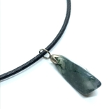 Подвес камень и серебро на шнурке, фото №2