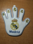 Футбольный сувенир на присоске №3 Мадрид, фото №2