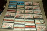 Аудиокассета кассета - 24 шт в лоте МК 90 60, фото №7