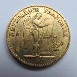 20 франков 1875 г. Франция, фото №2