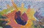 "В.Кнышевский ""Лето.Подсолнухи"",х.м.25*40см,1981г, фото №7"