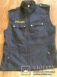 Жилетка Polizei +Justizwache рубашка (большой размер), фото №5