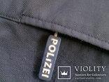 Жилетка Polizei +Justizwache рубашка (большой размер), фото №6