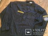 Жилетка Polizei +Justizwache рубашка (большой размер), фото №10