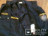 Жилетка Polizei +Justizwache рубашка (большой размер), фото №12