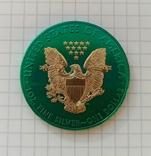 Американский серебряный орел 2020 Space Metals American Silver Eagle, фото №5