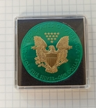 Американский серебряный орел 2020 Space Metals American Silver Eagle, фото №6