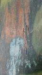 Икона старинная большая Святая Троица 81 х 71 см, фото №5