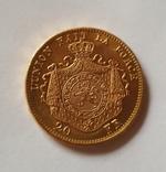 Бельгия, 20 франков 1875г. aUNC, фото №4