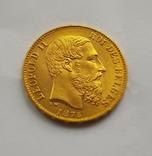 Бельгия, 20 франков 1875г. aUNC, фото №6