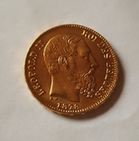 Бельгия, 20 франков 1878г. aUNC, фото №5
