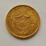 Бельгия, 20 франков 1878г. aUNC, фото №2