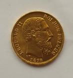 Бельгия, 20 франков 1878г. aUNC, фото №7