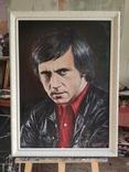 Портрет памяти Владимира Высоцкого (50 x 70, холст, масло), фото №3