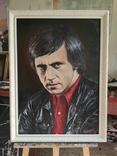 Портрет памяти Владимира Высоцкого (50 x 70, холст, масло), фото №4