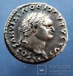 Денарии император Доминициан.68-81 г.н.э., фото №2