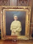 Красивый женский портрет.1906 г., фото №3
