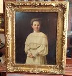 Красивый женский портрет.1906 г., фото №10