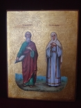Икона Иоанн и Васса, фото №2