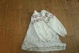 Сорочка вышиванка старинная №28, фото №3