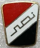 Значок-логотип компании (Ирак).,тяжелый, фото №2